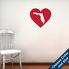 I Heart Florida State Wall Decal
