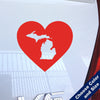 I Heart Michigan State Decal