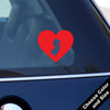 I Heart New Jersey State Decal, Vinyl Sticker