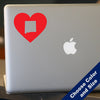 I Heart New Mexico State Decal, Vinyl Sticker