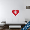 I Heart Nevada State Wall Decal
