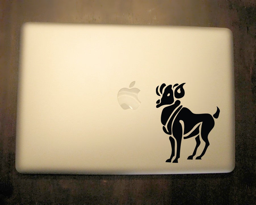Aries Zodiac Decal