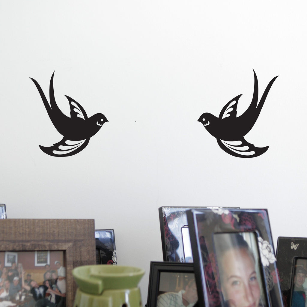 Sparrow Birds Decal