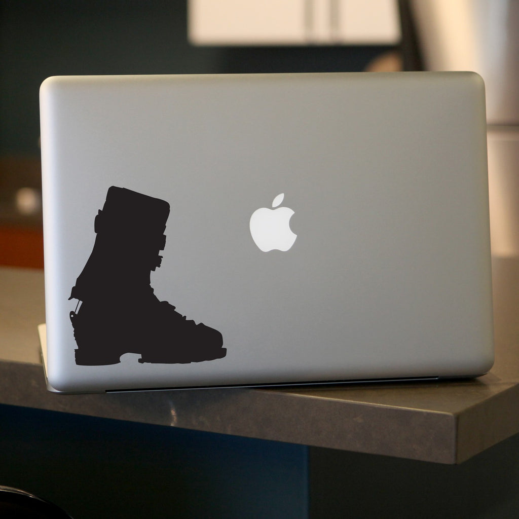 Ski Boot Decal