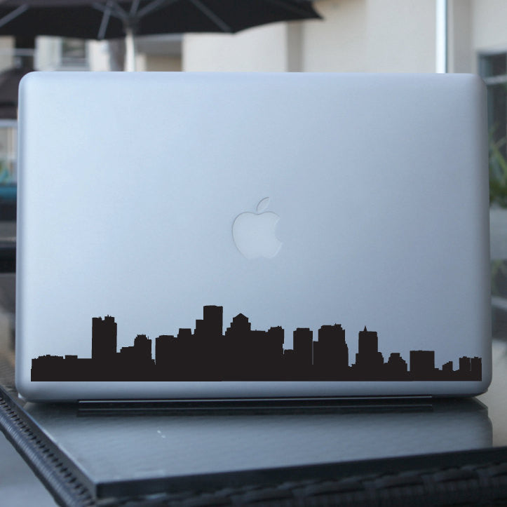 Boston Skyline Decal