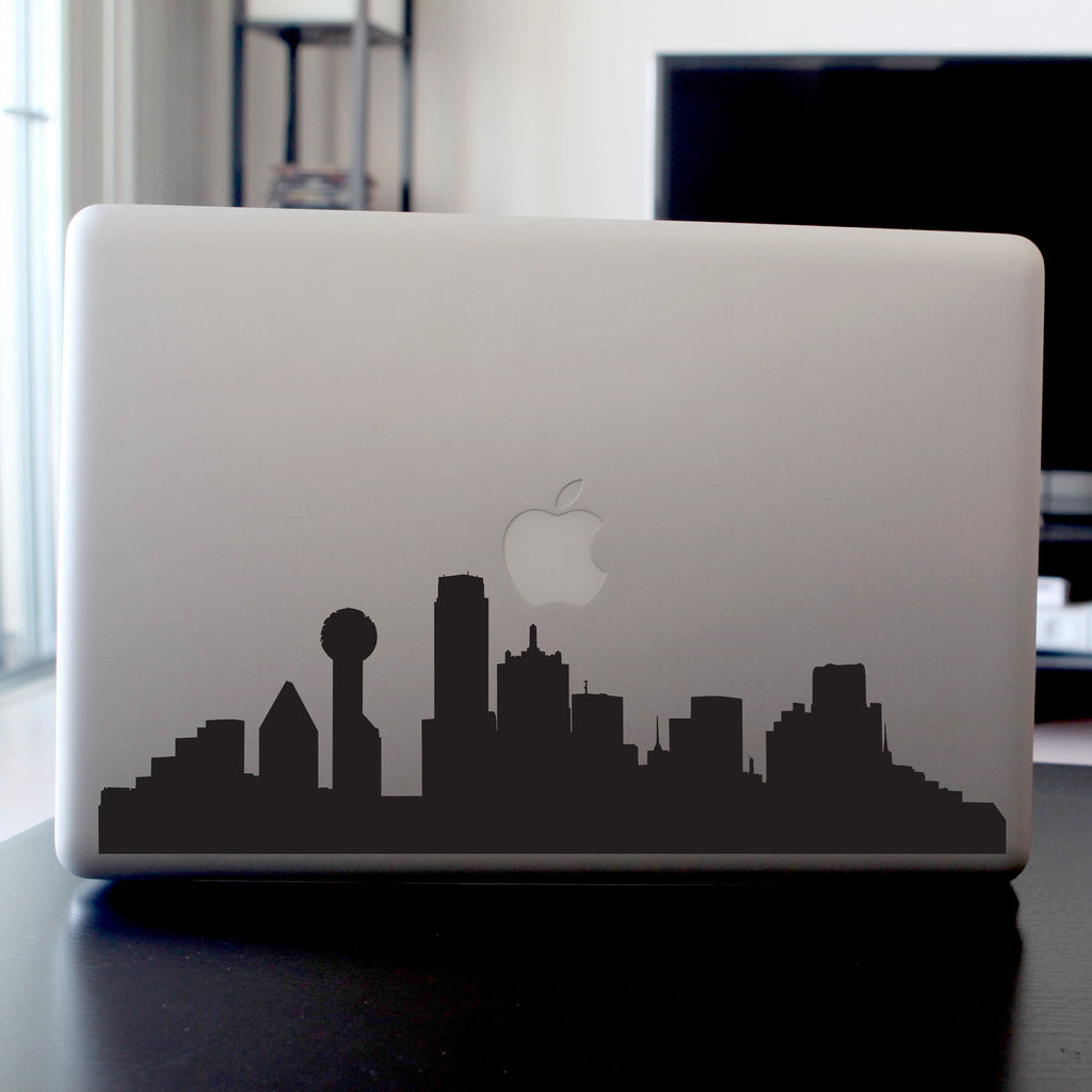 Dallas Skyline Decal