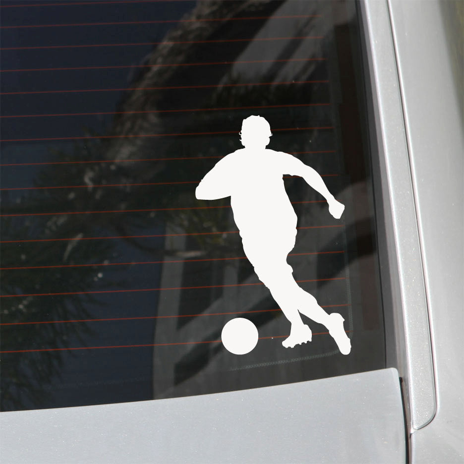 Soccer Player Decal