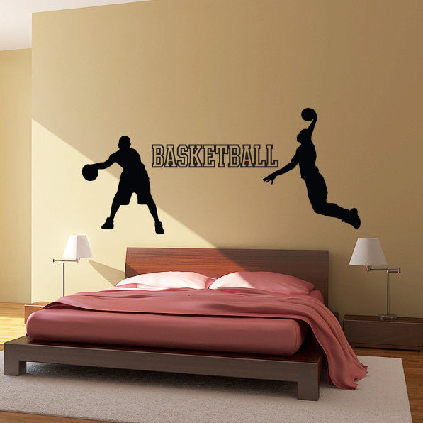 Basketball Wall Decal Set