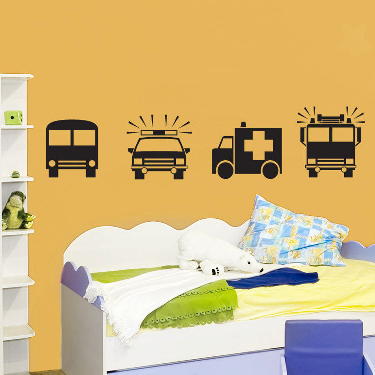 Children's Car Decal Set