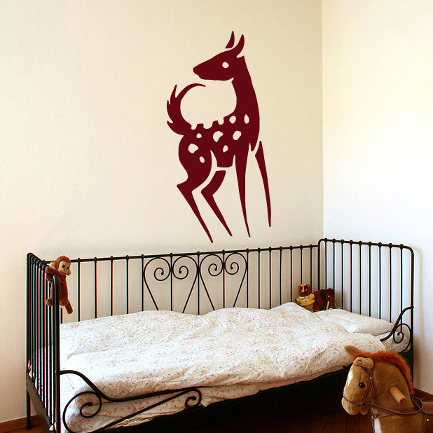 Cute Deer Wall Decal