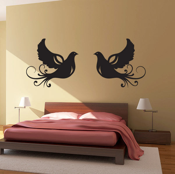Doves Wall Decal Set