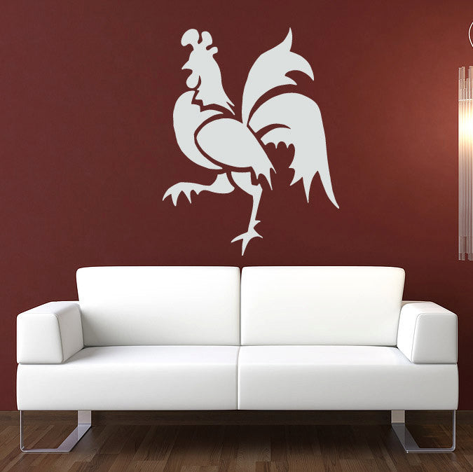 Rooster Wall Decal 46""