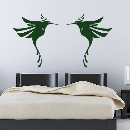 Humming Birds Wall Decal