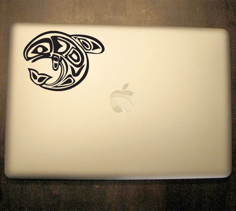 Native American Fish Decal