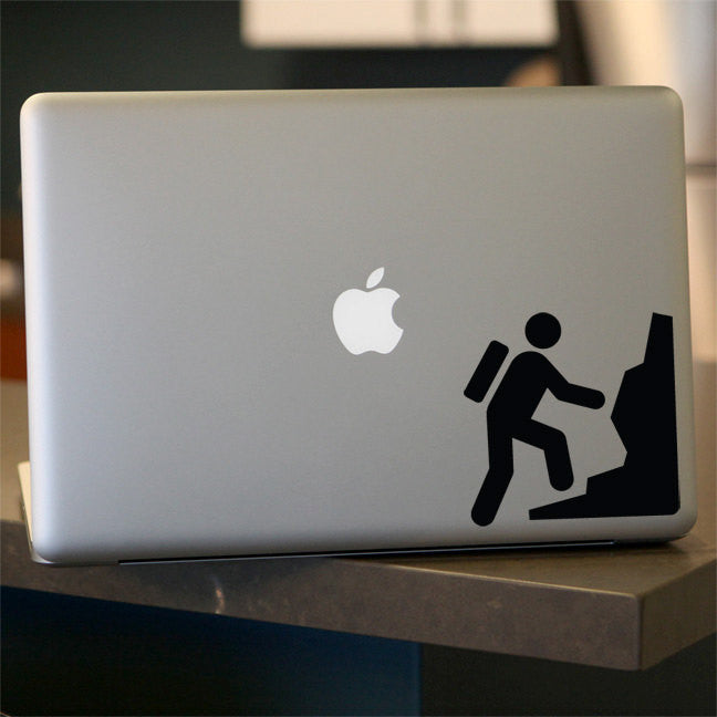 Rock Climbing Decal