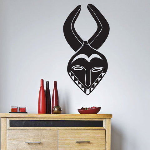 African Headdress Wall Decal