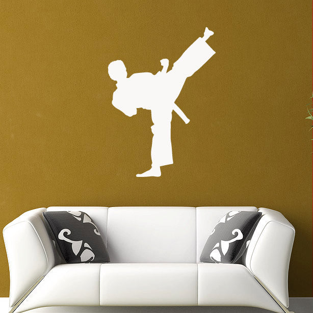 Karate Kick Wall Decal - 36""