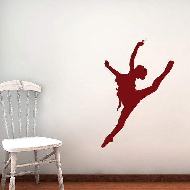 Ballerina Wall Decal - 36""