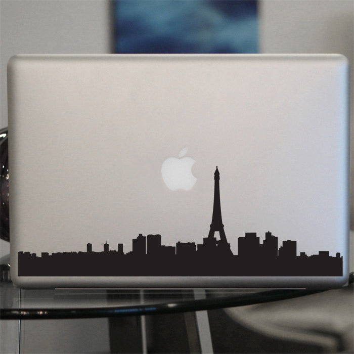 Paris Skyline Decal