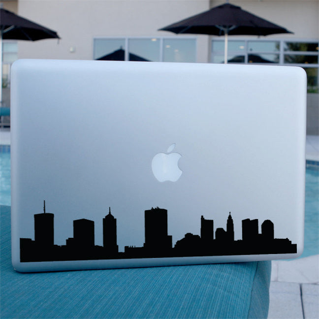 Columbus Skyline Decal