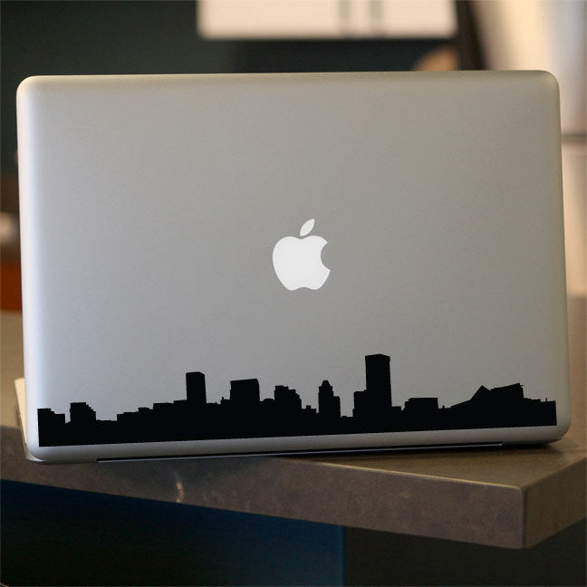 Baltimore Skyline Decal