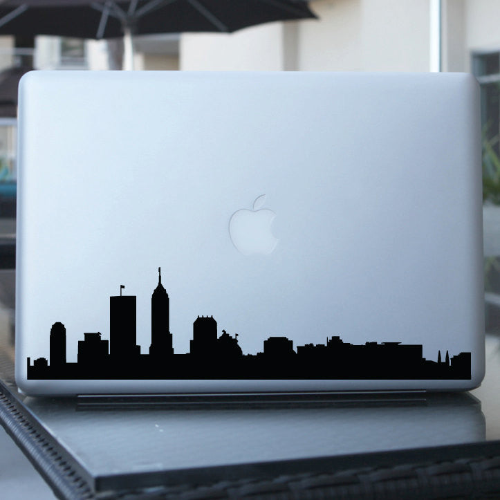 Indianapolis Skyline Decal