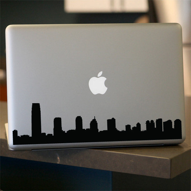 New Jersey Skyline Decal