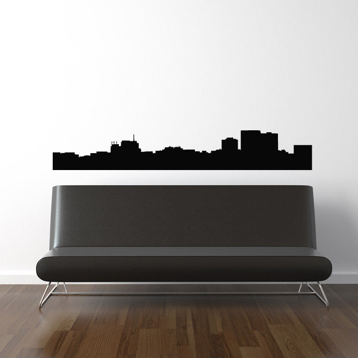 Anchorage Skyline Wall Decal