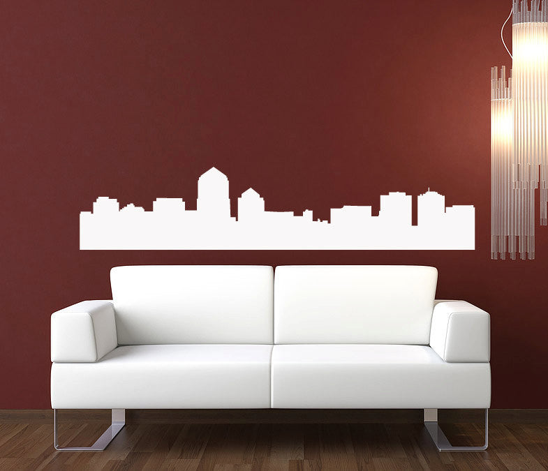 Albuquerque Skyline Wall Decal