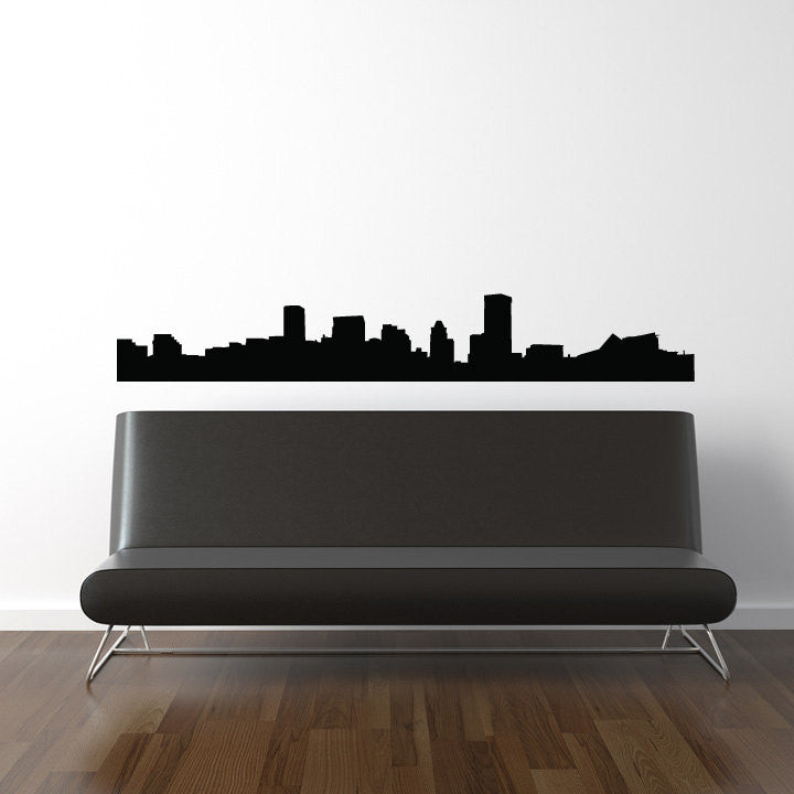 Baltimore Skyline Wall Decal