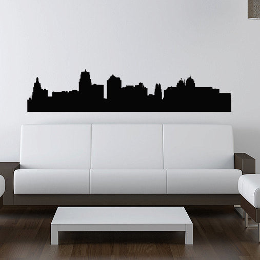 Kansas City Skyline Wall Decal