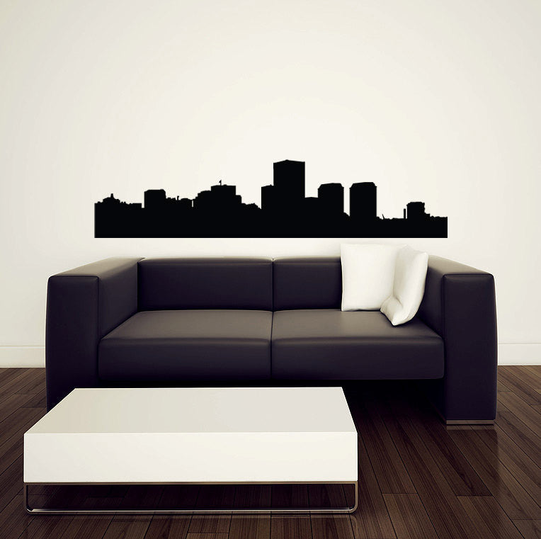Richmond Skyline Wall Decal