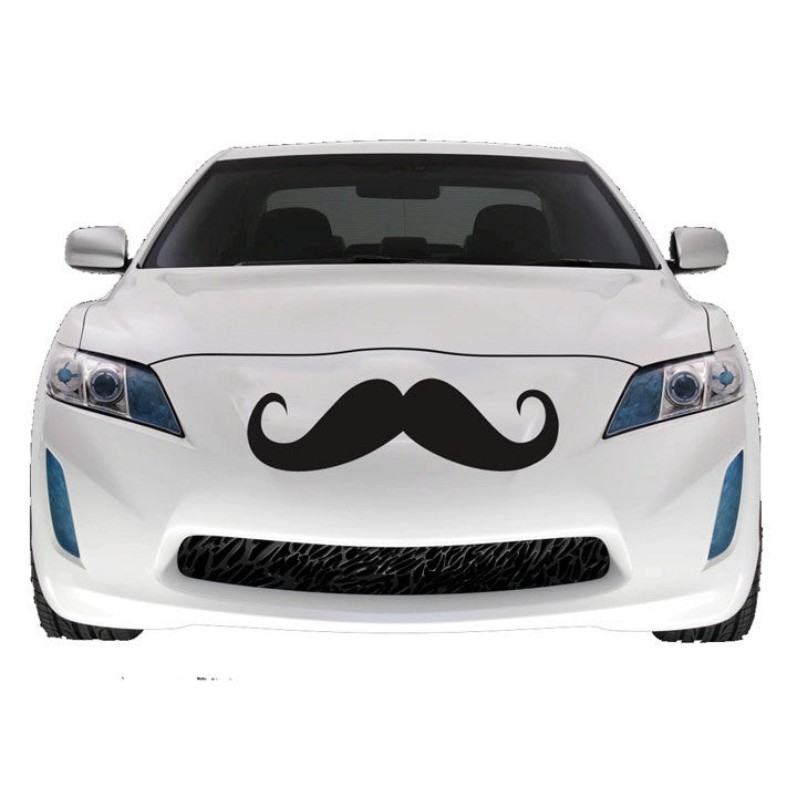 Mustache Decal