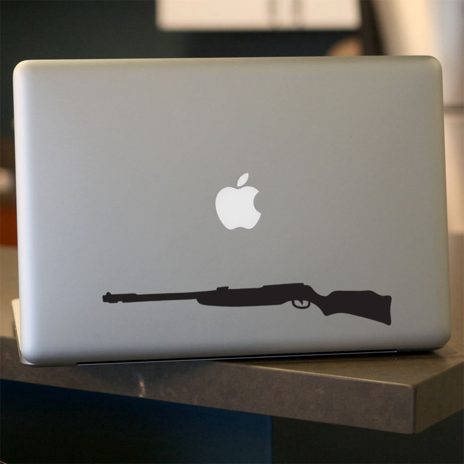 Rifle Decal - 9""