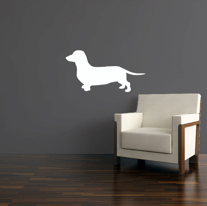 Daschund Wall Decal