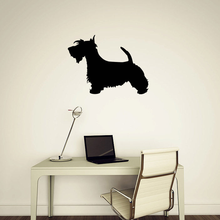 Scottish Terrier Wall Decal