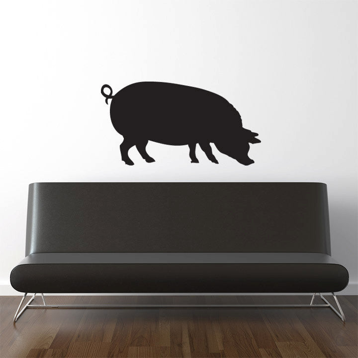 Pig Wall Decal 'Äì 26""