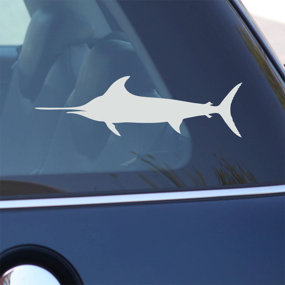Swordfish Decal