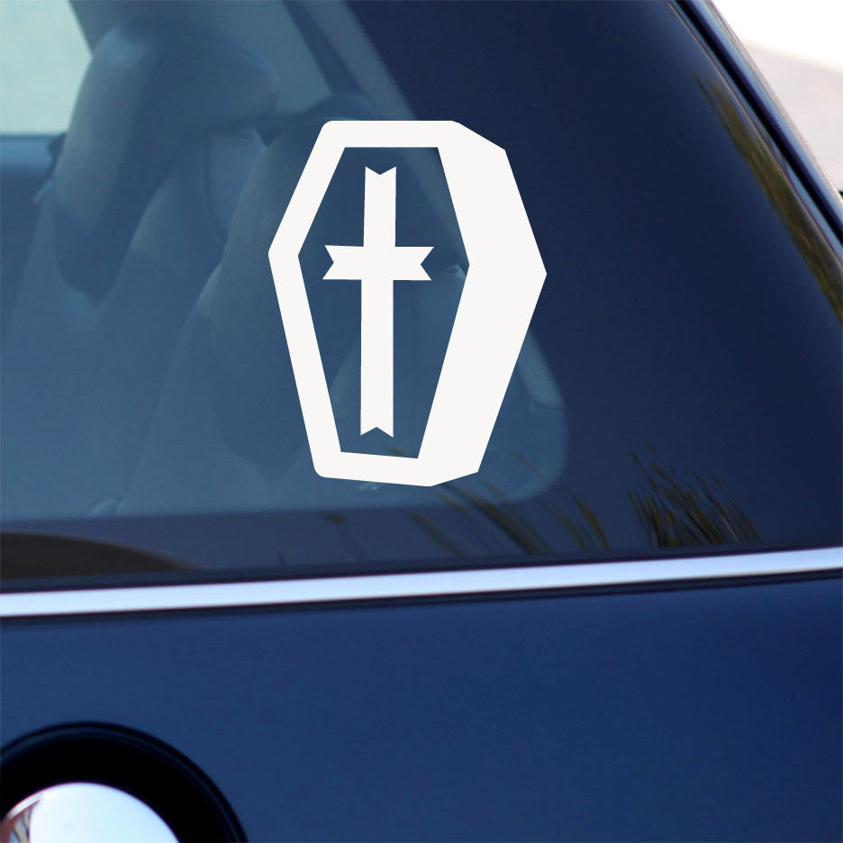 Cute Coffin Decal