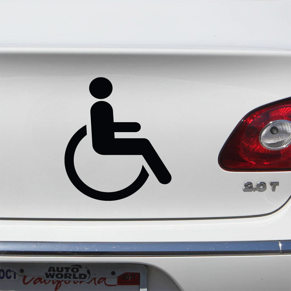 Handicapped Decal  -  Disabled
