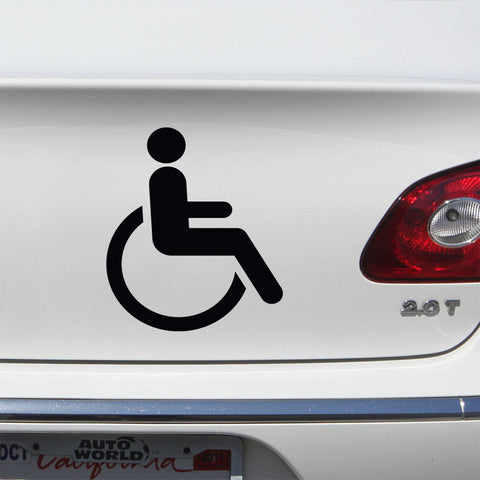 Handicapped decal disabled