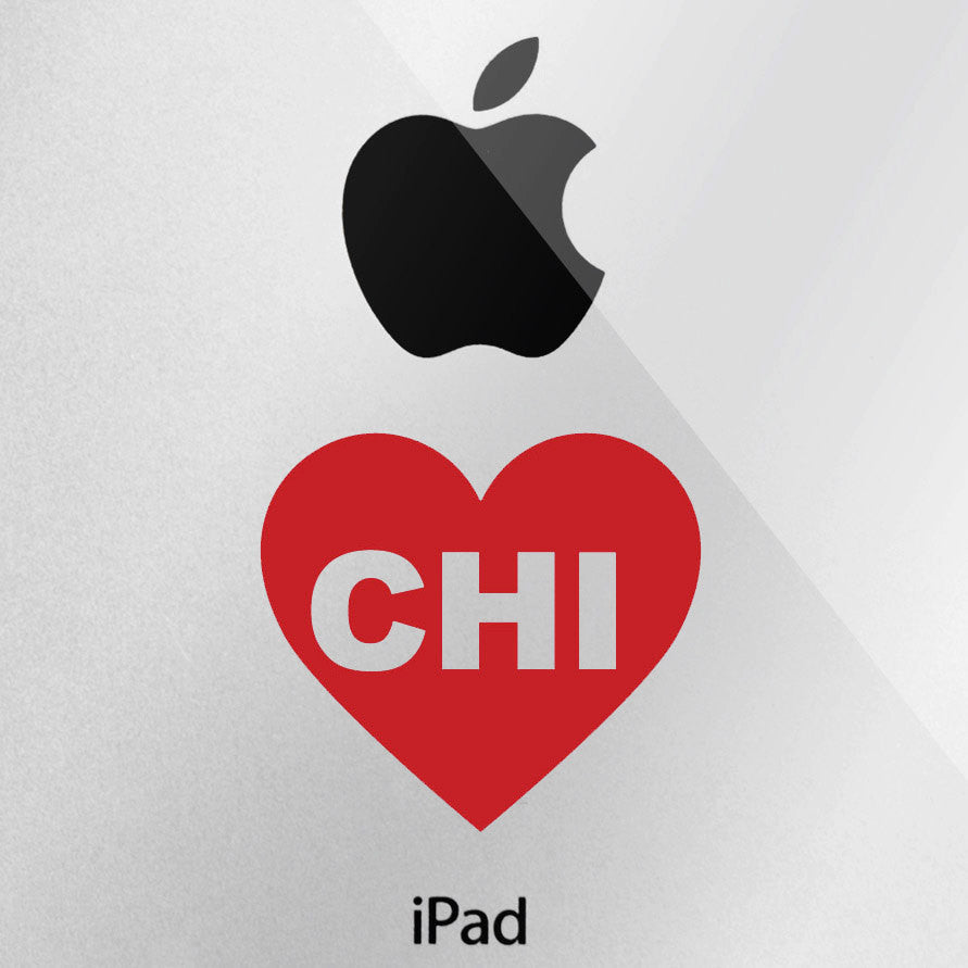 Chicago Love Decal - I Heart Chicago