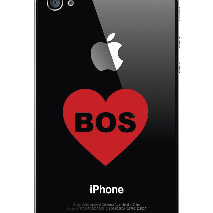 I Heart Boston Decal - Love Sticker