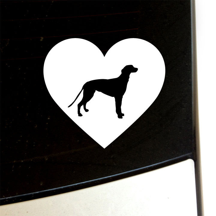 Greyhound Love - I Heart Greyhound Dog