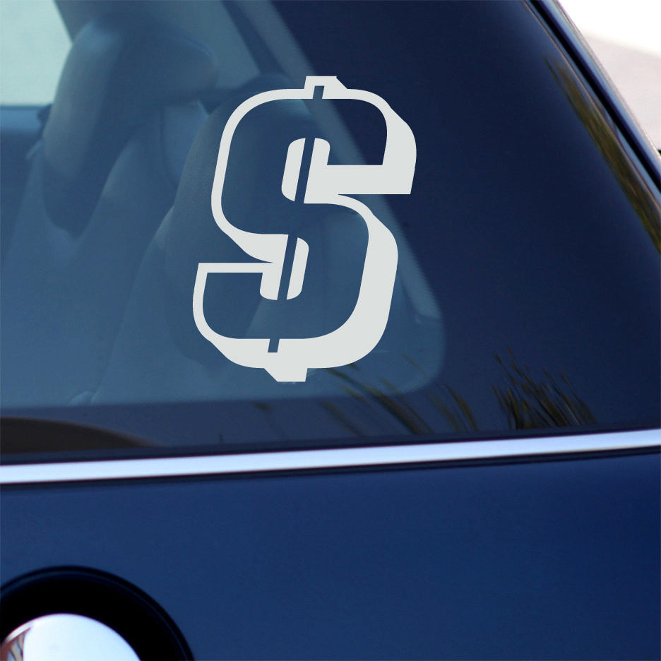 Money Sign Decal