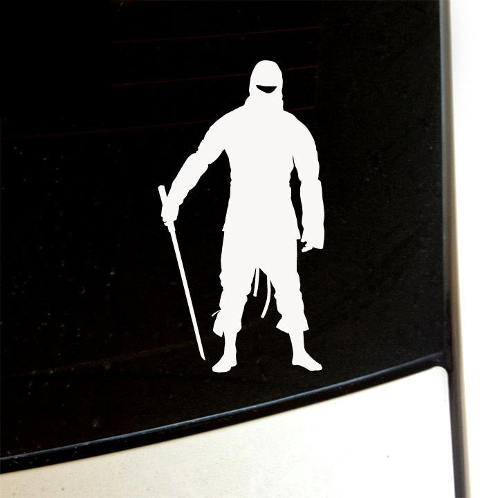 Ninja with Sword Decal