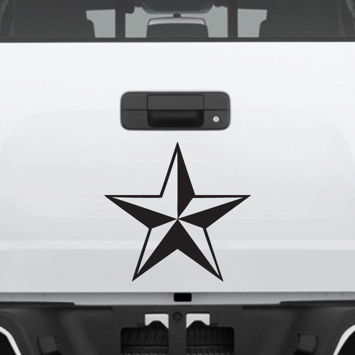 Nautical - Nor Cal Star Decal