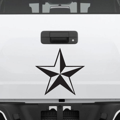 Nautical nor cal star decal