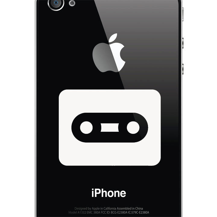 Cassette Tape Decal