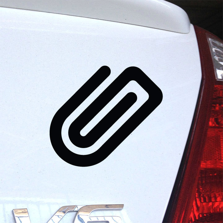 Paperclip Decal